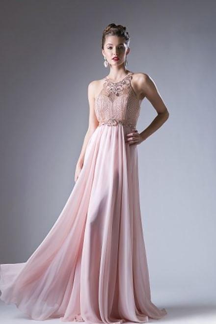 49c650467 Vestido de festa Rosa Com Pedraria Delicada – Aluguel de Vestidos de ...